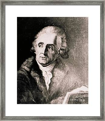 John James Audubon, French-american Framed Print by Science Source