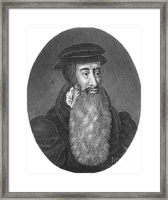 John Knox, Scottish Protestant Framed Print by Photo Researchers