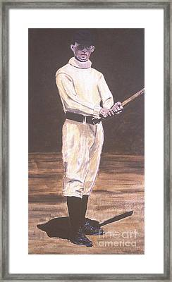 John Mcgraw Framed Print by Ralph LeCompte