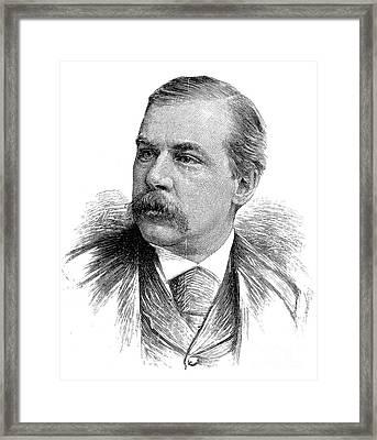 John Pierpont Morgan Framed Print by Granger
