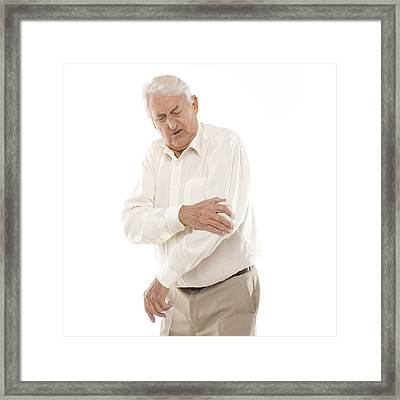 Joint Pain Framed Print by
