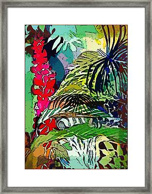 Jungle Boogie Framed Print by Mindy Newman
