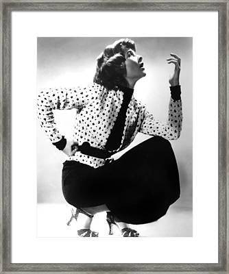 Katharine Hepburn, 1930s Framed Print by Everett