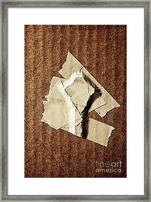 key Framed Print by HD Connelly