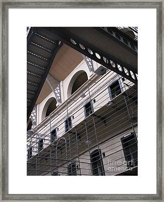 Kilmainham Gaol Framed Print by Arlene Carmel