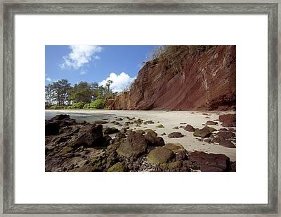 Koki Beach Framed Print by Jenna Szerlag