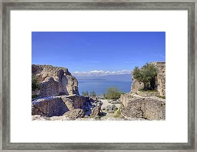 Lake Garda Framed Print by Joana Kruse