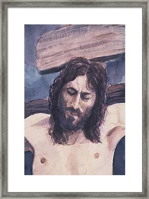 Lamb Of God Framed Print by Chae Min Shim