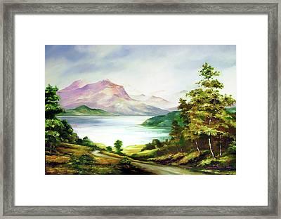 Landscape Framed Print by Seni