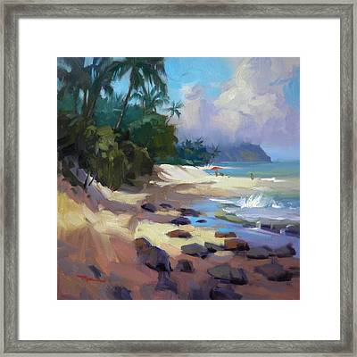 Laniakea Framed Print by Richard Robinson