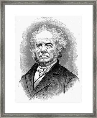 Lewis Tappan (1788-1873) Framed Print by Granger