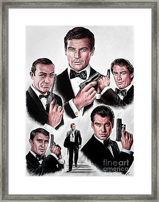 Licence To Kill Framed Print by Andrew Read