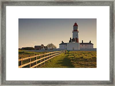 Lighthouse South Shields, Tyne And Framed Print by John Short