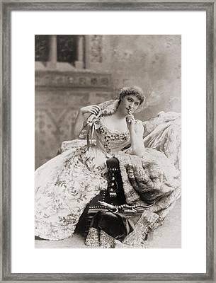 Lillie Langtry 1853-1929, English Framed Print by Everett