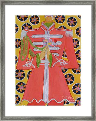 Lonely Hearts Club Member George Framed Print by Barbara Nolan