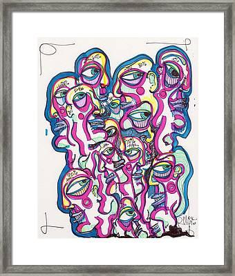 Look Around Framed Print by Robert Wolverton Jr