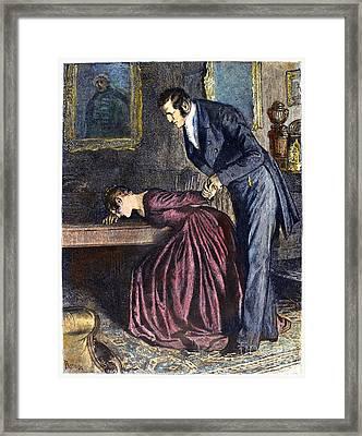 Love, 1886 Framed Print by Granger
