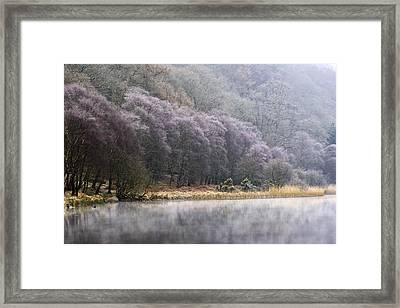 Lower Lake, Glendalough, County Framed Print by Peter McCabe