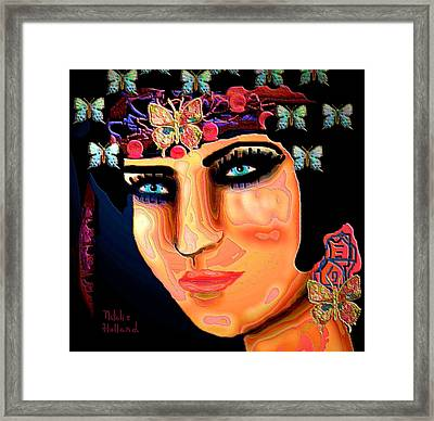 Madame Butterfly Framed Print by Natalie Holland