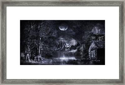 Magical Night Framed Print by Svetlana Sewell
