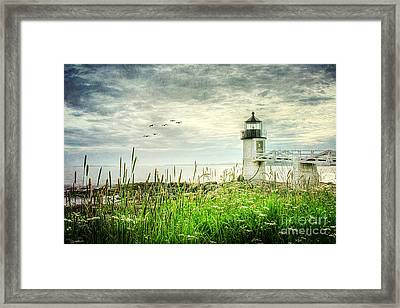 Marshall Point Framed Print by Darren Fisher