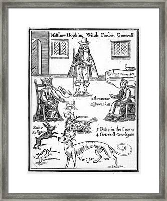 Matthew Hopkins (d. 1647) Framed Print by Granger