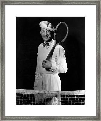 Maurice Chevalier, Ca. Early 1930s Framed Print by Everett