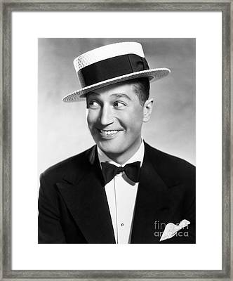 Maurice Chevalier Framed Print by Granger