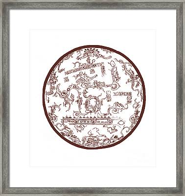 Mayan Cosmos Framed Print by Science Source