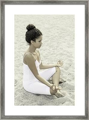 Meditation Framed Print by Joana Kruse