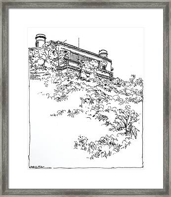 Mexico City Chapultepec Castle Framed Print by Robert Birkenes