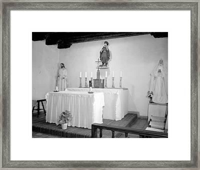 Mission San Francisco De La Espada Framed Print by Everett