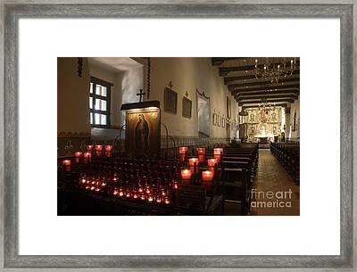 Mission San Juan Capistrano  Framed Print by Bob Christopher