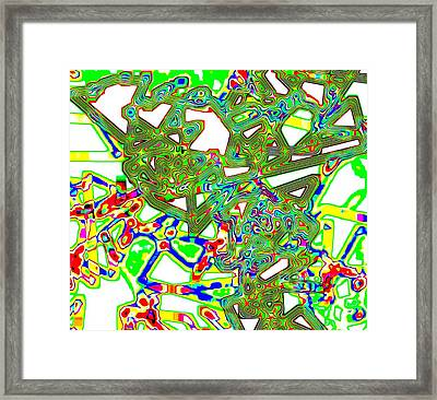Mix And Mingle Framed Print by Will Borden