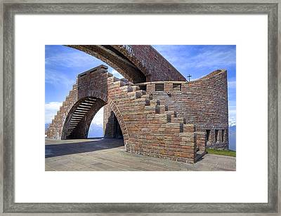 Monte Tamaro - Switzerland Framed Print by Joana Kruse