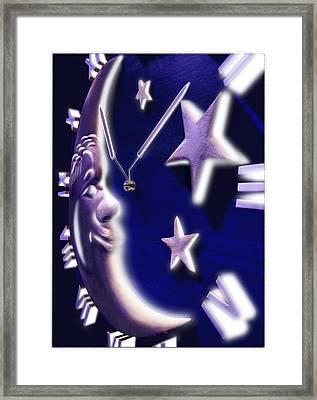 Moon Glow Framed Print by Mike McGlothlen