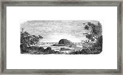 Mormon Tabernacle, 1868 Framed Print by Granger