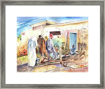 Moroccan Market 02 Framed Print by Miki De Goodaboom