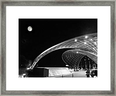 Morongo Moon Framed Print by Kevin Moore
