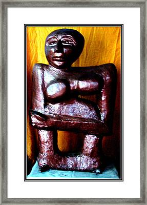 My Old Model Framed Print by Anand Swaroop Manchiraju