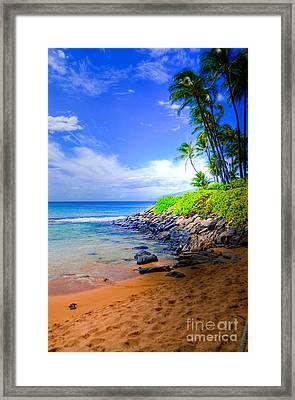 Napili Bay Maui Framed Print by Kelly Wade