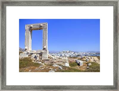 Naxos - Cyclades - Greece Framed Print by Joana Kruse