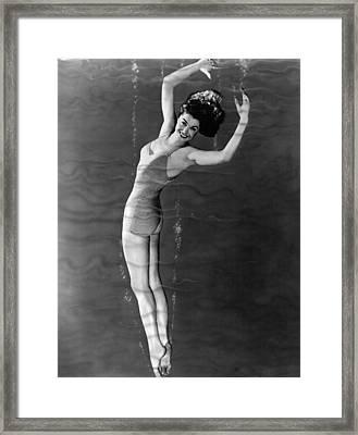 Neptunes Daughter, Esther Williams, 1949 Framed Print by Everett