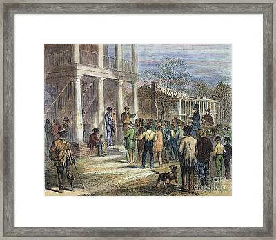 New Black Code, 1867 Framed Print by Granger