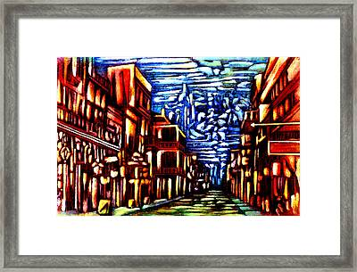 New Orleans Framed Print by Giuliano Cavallo