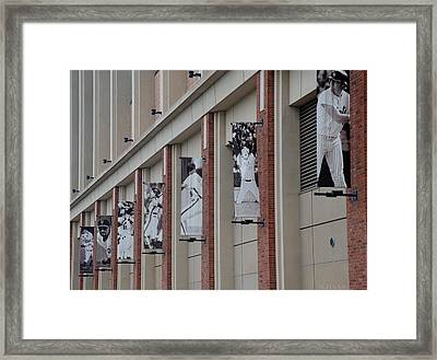 New York Mets Of Old Framed Print by Rob Hans
