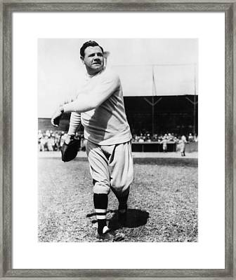 New York Yankees. Yankees Outfielder Framed Print by Everett