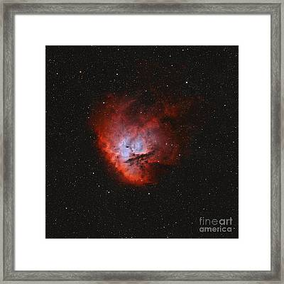 Ngc 281, The Pacman Nebula Framed Print by Rolf Geissinger