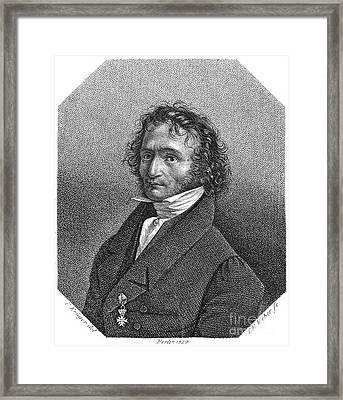Nicolo Paganini (1782-1840) Framed Print by Granger