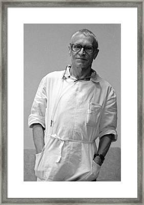Nikolai Amosov, Soviet Heart Surgeon Framed Print by Ria Novosti